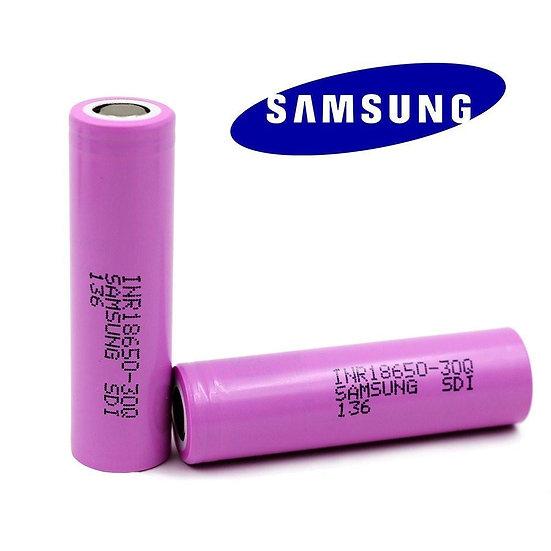 1+1 Samsung INR18650 30Q 3000mAh (15A) - ΜΠΑΤΑΡΙΕΣ ΓΙΑ MODS
