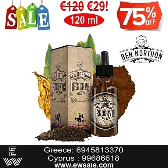 120 ml Ben Northon – Reserve 1850 Υγρά αναπλήρωσης