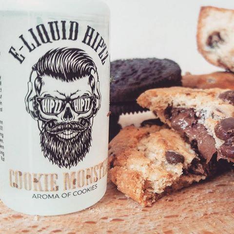 60 ml HIPZZ  Cookie Monster Shake & Vape υγρά άτμισης Γεύσεις Gourmet!