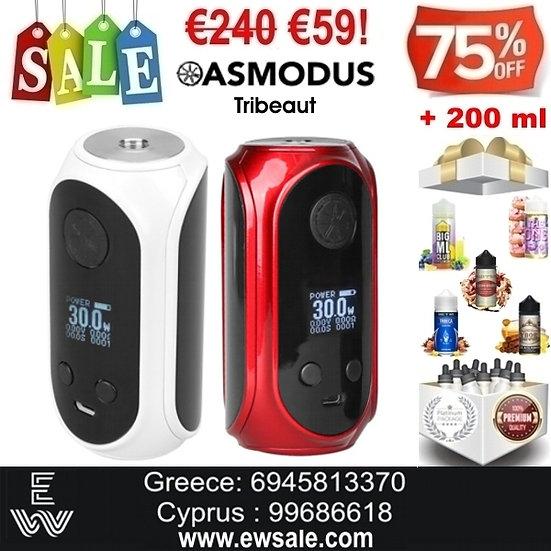 Asmodus Tribeaut 80W Mod ηλεκτρονικού τσιγάρου + 200ml Υγρά άτμισης