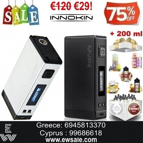 Innokin MVP4 Express Mod ηλεκτρονικού τσιγάρου + 200ml Υγρά άτμισης
