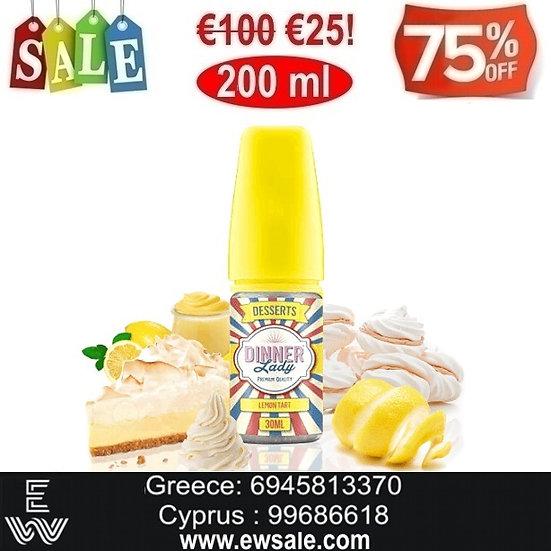 200 ml Dinner Lady Lemon Tart DIY Υγρά αναπλήρωσης