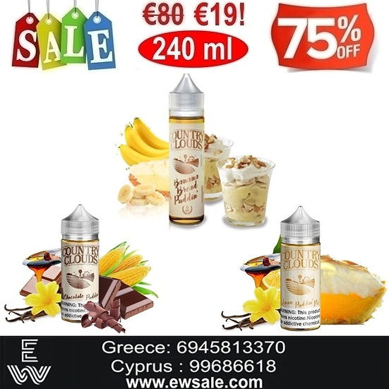 240 ml Country Clouds Υγρά αναπλήρωσης