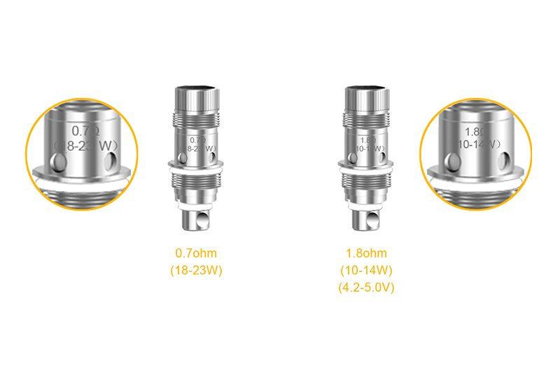 5 Aspire Nautilus 2 Coils 0.7 ohm / Ανταλλακτικές κεφαλές (αντιστάσεις)