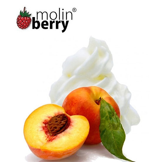 200 ml Peach Cream Molinberry M-line DIY Υγρά άτμισης