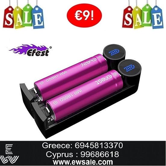 Efest Slim K2 φορτιστής μπαταριών για Ηλεκτρονικά Τσιγάρα