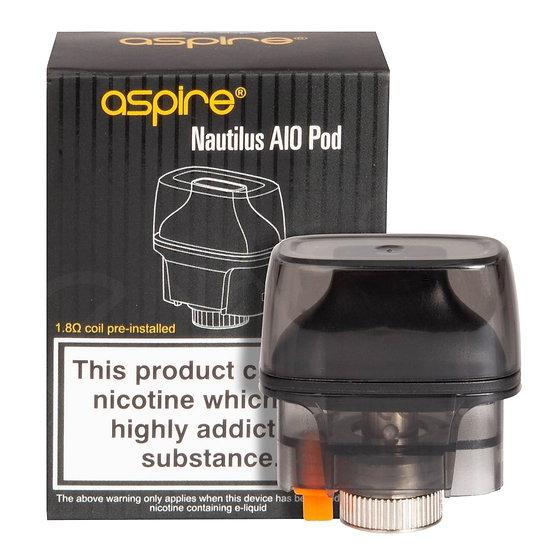 Aspire Nautilus AIO POD 4.5 ml ανταλλακτική δεξαμενή & αντιστάσεις