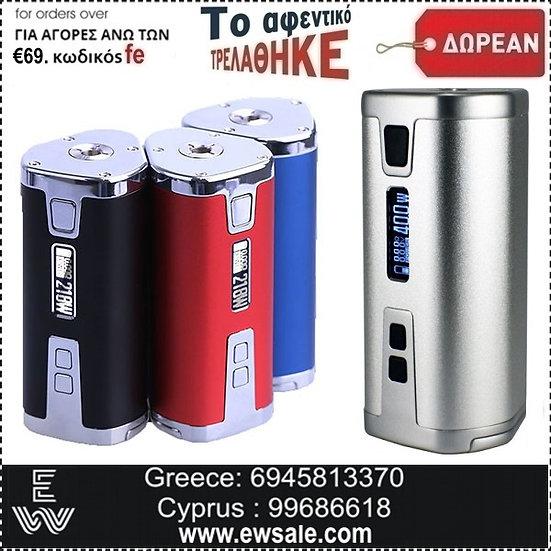 Δωροκουπόνι - Free Sigelei WEHE 218 W Mods ηλεκτρονικού τσιγάρου