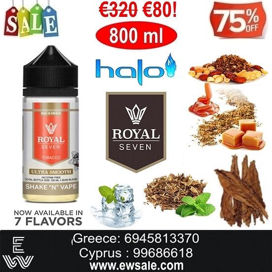800 ml Halo Royal Seven Υγρά αναπλήρωσης