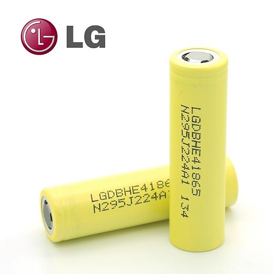 Μπαταρία LG ICR18650-HE4 2500mAh 20A