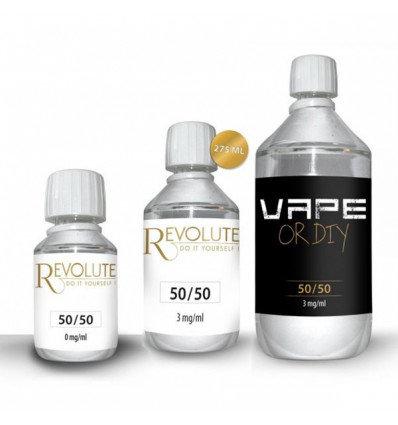 100 ml Ατμιστική Βάση νικοτίνης / Premixed Unflavoured E-liquid Base