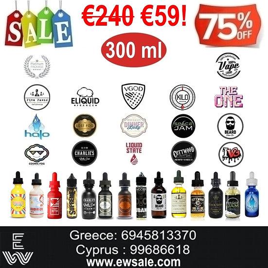 300 ml Διαλέξτε Α ΛΑ ΚΑΡΤ Premium υγρά αναπλήρωσης