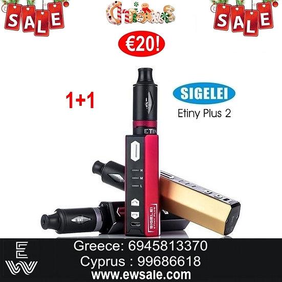 1+1 Sigelei Etiny Plus Ⅱ Kit Ηλεκτρονικά Τσιγάρα