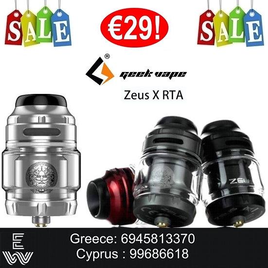 GeekVape Zeus X RTA 4.5 ml Ατμοποιητής