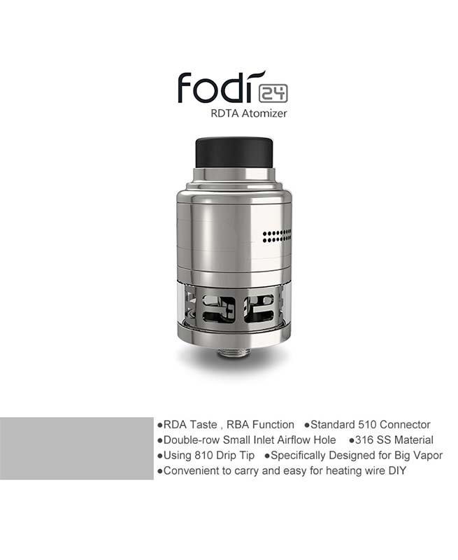 HCIGAR FODI 24MM RDTA επισκευάσιμος ατμοποιητής