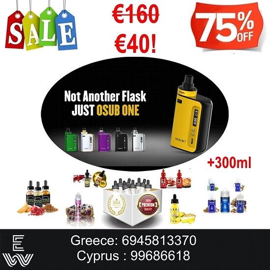 SMOK OSUB One 50W Kit ηλεκτρονικό τσιγάρο + 300ml
