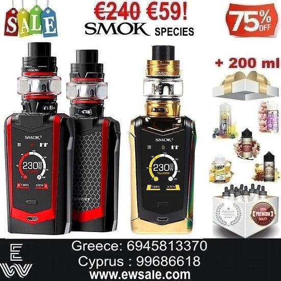 SMOK SPECIES ΑΦΗΣ 230W Ηλεκτρονικά Τσιγάρα + 200 ml Υγρά άτμισης