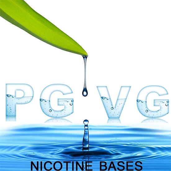 0,5L High VG Ατμιστική Βάση νικοτίνης / Premixed Unflavoured E-liquid Base