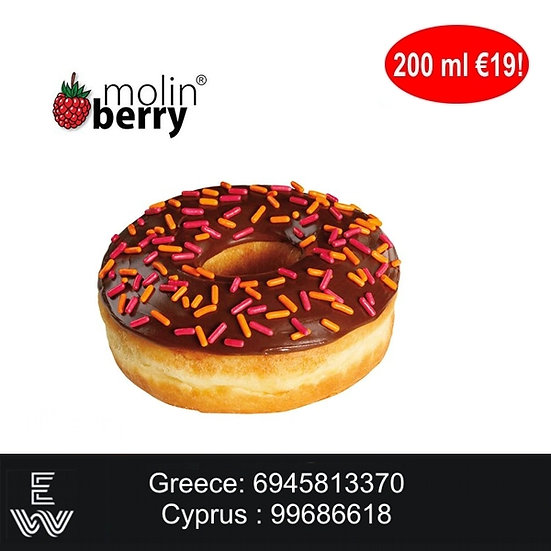 200 ml FREAKY DONUT Molinberry M-line DIY Υγρά άτμισης