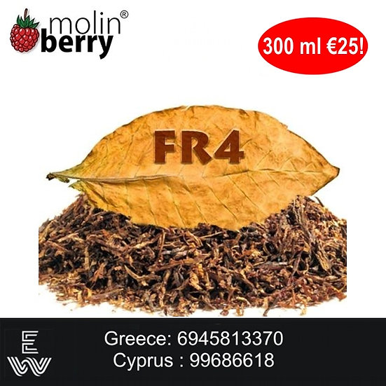 300 ml FR-4 Molinberry M-line DIY Υγρά άτμισης