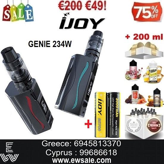 IJOY GENIE PD270 234W Hλεκτρονικό τσιγάρο + 2 μπαταρίες + 200ml Υγρά άτμισης