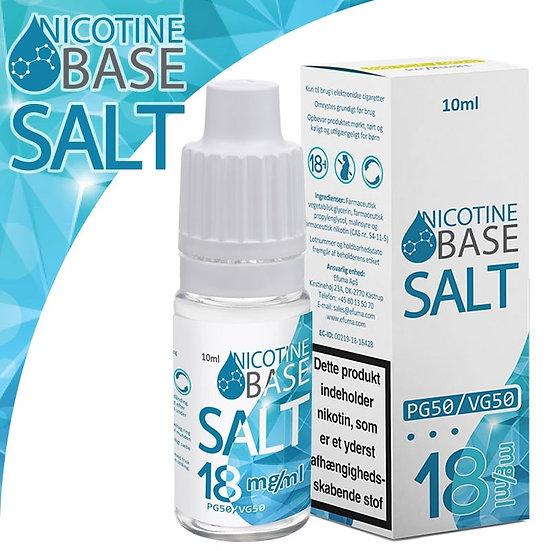 120 (12x10) ml Nicotine Base SALT 18 mg - άλατα νικοτίνης - Υγρά αναπλήρωσης