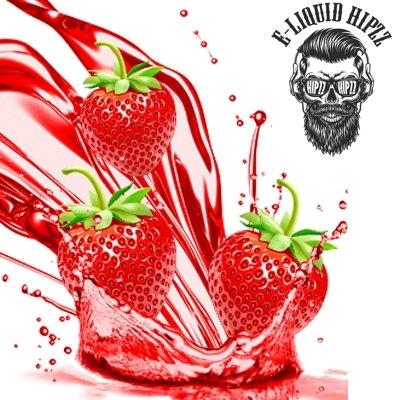 60 ml HIPZZ Kiss Strawberries DIY Shake & Vape υγρά αναπλήρωσης, άτμισης Γεύσεις