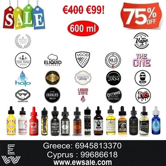 600 ml Διαλέξτε Α ΛΑ ΚΑΡΤ Premium υγρά αναπλήρωσης