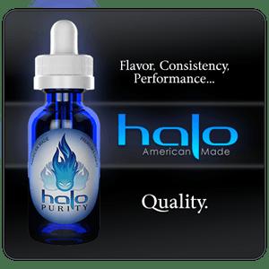 Halo 3 x 10 ml Vape e-juice - Υγρά αναπλήρωσης