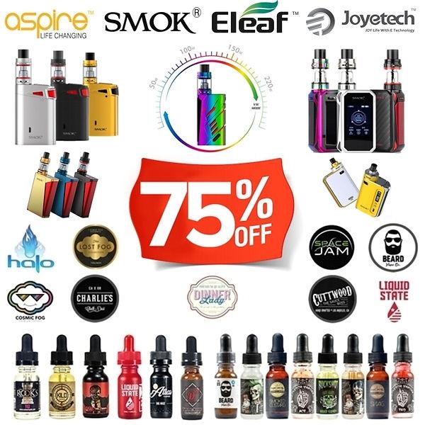 -75% Χονδρική / Wholesale - Ηλεκτρονικά Τσιγάρα, Υγρά άτμισης