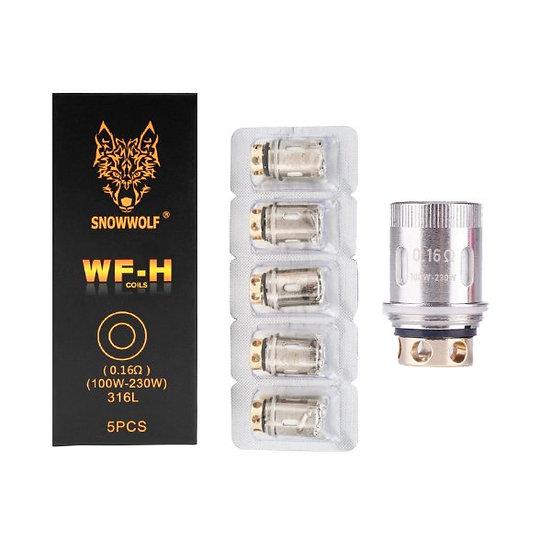 5 SnowWolf Ανταλλακτικές κεφαλές (αντιστάσεις)Coil Mfeng WF-H 0.16Ω