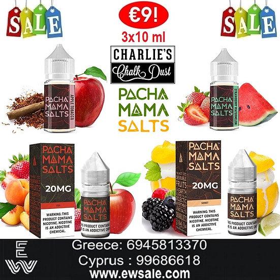 30 ml Charlie's Chalk Dust Pachamama Salts Υγρά άτμισης μεάλατα νικοτίνης