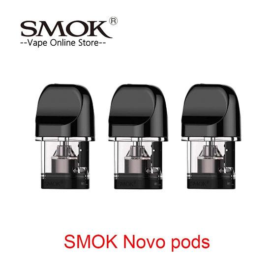 3 x SMOK Novo Pod ανταλλακτική δεξαμενή & αντιστάσεις