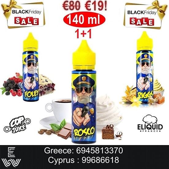 1+1 E-liquid France Cop Juice 70 (140) ml Υγρά αναπλήρωσης