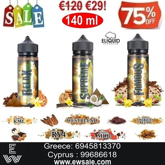 140 ml E-liquid France Υγρά αναπλήρωσης