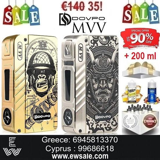 DOVPO M VV  300W Mods ηλεκτρονικού τσιγάρου + 200ml Υγρά άτμισης
