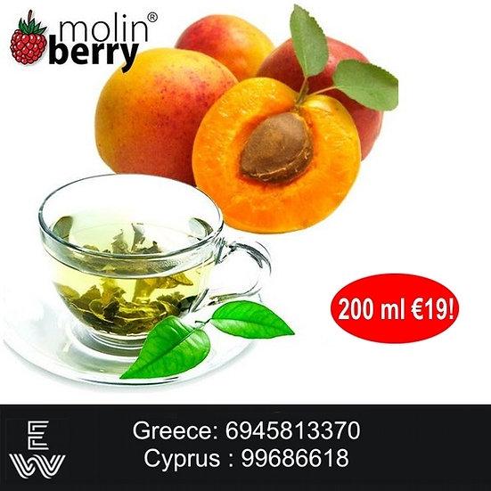 200 ml Peach Tea Molinberry M-line DIY Υγρά άτμισης