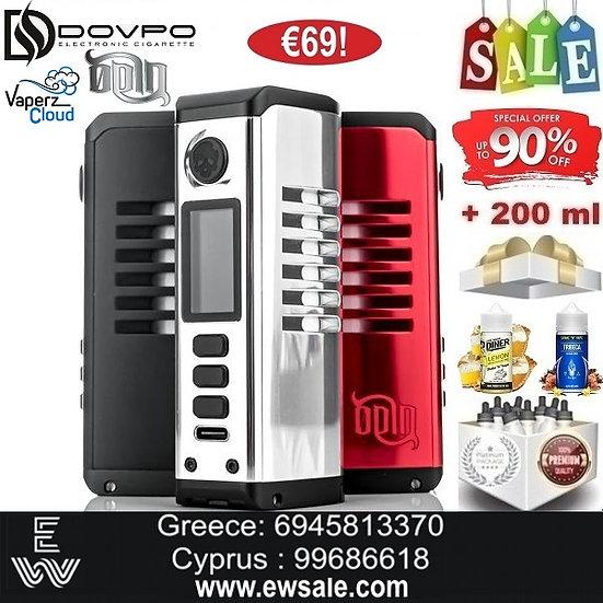 DOVPO Vaperz Cloud Odin 100W Mods ηλεκτρονικού τσιγάρου+ 200ml Υγρά άτμισης