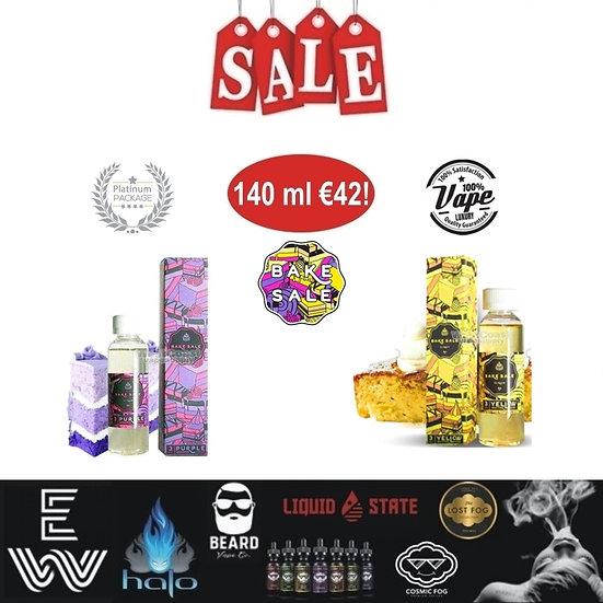 Bake Sale / Charlie's Chalk Dust 140 ml Vape E-Liquids - Υγρά άτμισης