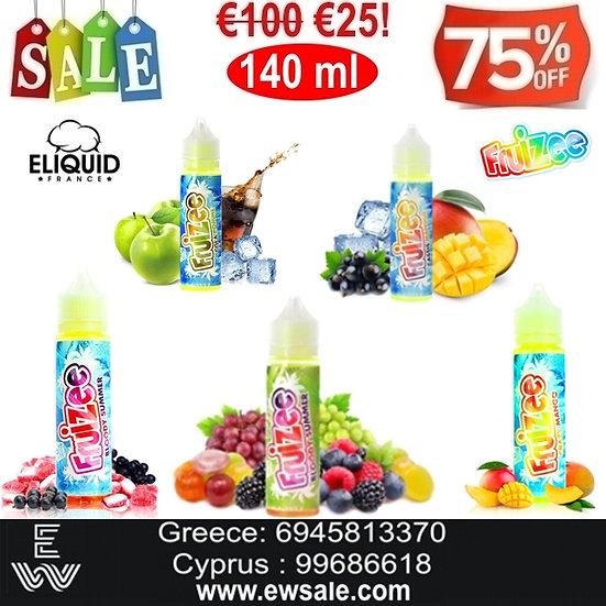 140 ml Fruizee E-liquid France Υγρά αναπλήρωσης