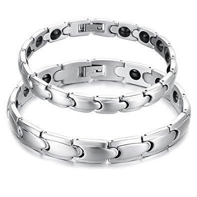 Stainless Steel Couple Bracelets