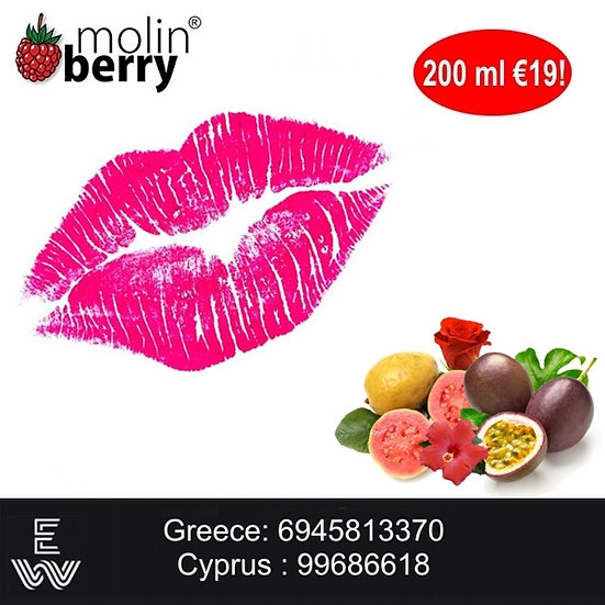 200 ml Pink Lady Molinberry M-line DIY Υγρά άτμισης
