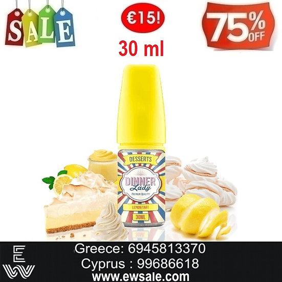 30 ml Dinner Lady Lemon Tart  Αρώματα DIY υγρων αναπληρωσης