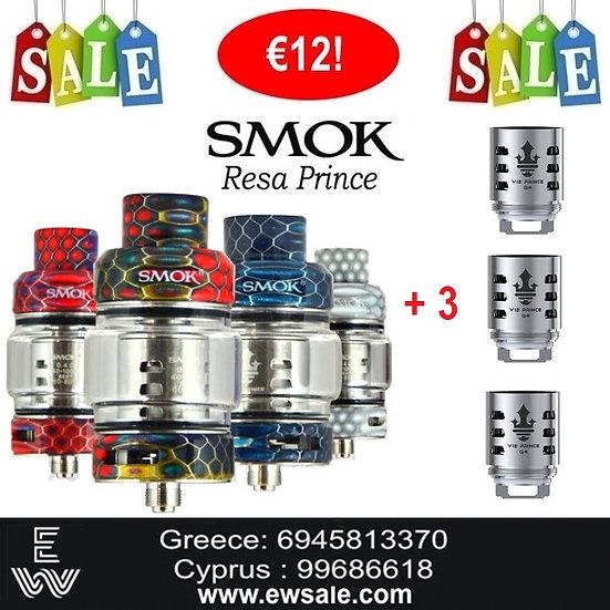 Smok Resa Prince Ατμοποιητές ηλεκτρονικού τσιγάρου + 3 αντιστάσεις