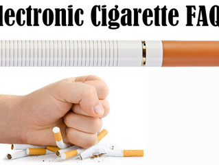 Frequently asked questions about electronic cigarettes