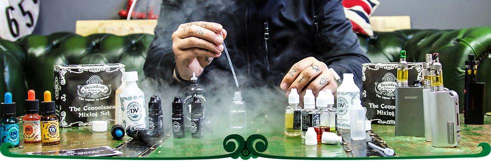 120 ml Υγρά άτμισης DIY Shake 'n' Vape / Easy 2 Mix E-Liquids