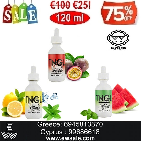 120 ml COSMIC FOG TNGL Υγρά αναπλήρωσης