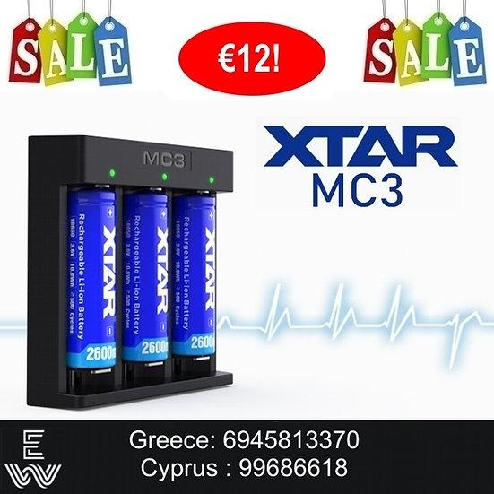 XTar MC3 Charger φορτιστής μπαταριών για Ηλεκτρονικά Τσιγάρα