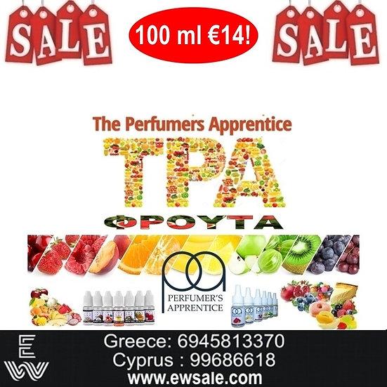 100 ml TPA Φρούτα Αρώματα DIY υγρων αναπληρωσης