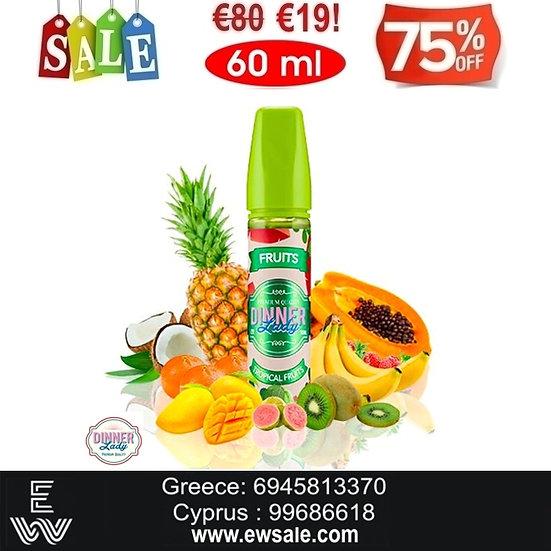 60 ml Dinner Lady Tropical Fruits Υγρά άτμισης